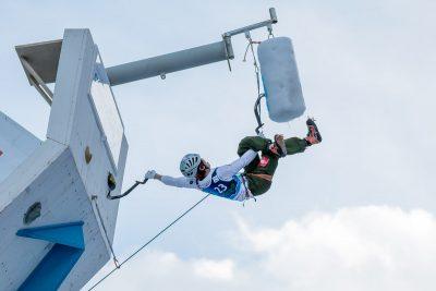 Eisklettern in Rabenstein Weltcub