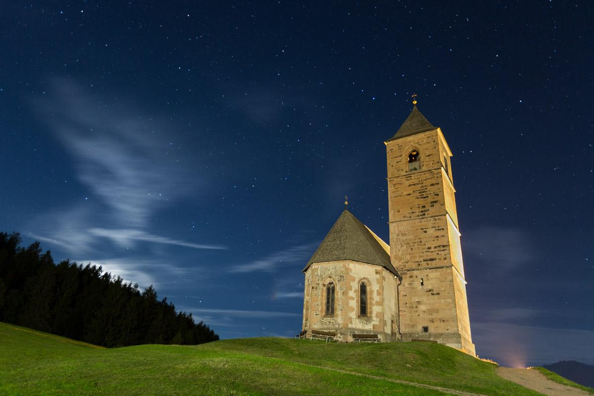 St. Kathreinkirche Hafling Sterne