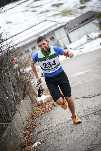 Daniel Reiterer Nordic Uphill Competition Vöran